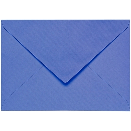 Artoz 1001 - 'Majestic Blue' Envelope. 162mm x 114mm 100gsm C6 Lined Gummed Envelope.