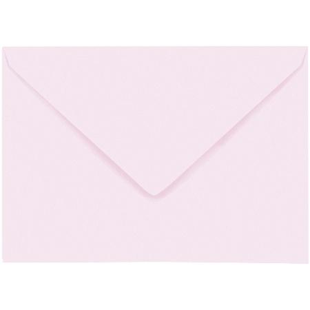 Artoz 1001 - 'Delicate Pink' Envelope. 162mm x 114mm 100gsm C6 Lined Gummed Envelope.