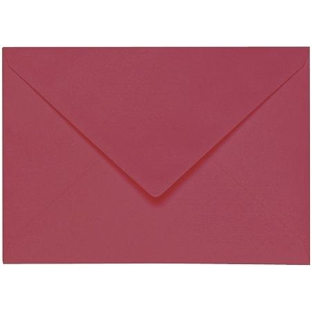 Artoz 1001 - 'Purple Red' Envelope. 162mm x 114mm 100gsm C6 Lined Gummed Envelope.