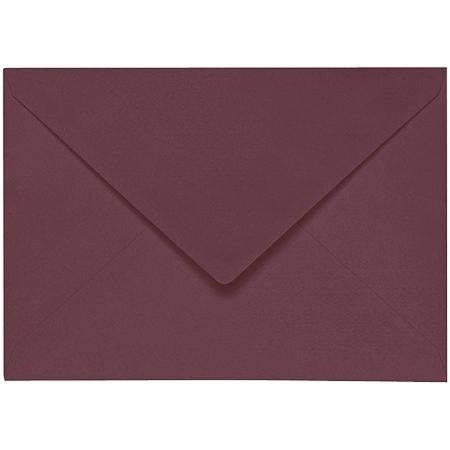 Artoz 1001 - 'Marsala' Envelope. 162mm x 114mm 100gsm C6 Lined Gummed Envelope.