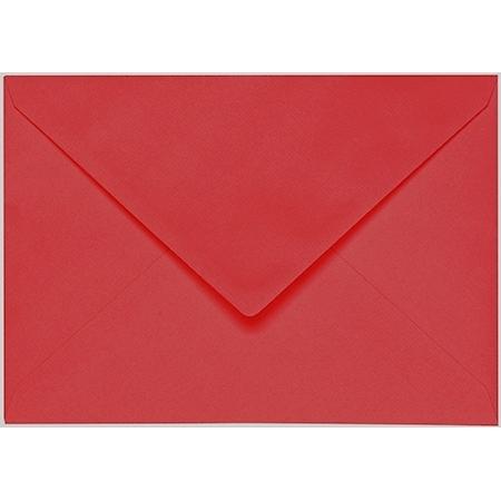 Artoz 1001 - 'Red' Envelope. 162mm x 114mm 100gsm C6 Lined Gummed Envelope.