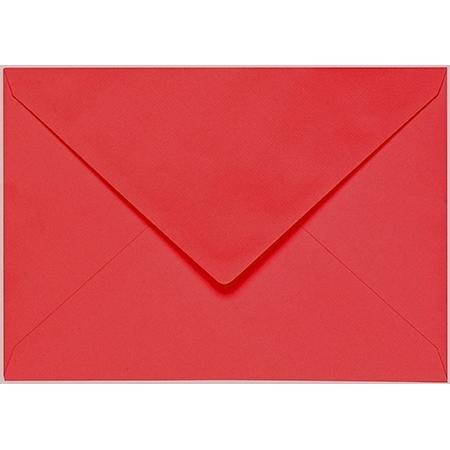 Artoz 1001 - 'Light Red' Envelope. 162mm x 114mm 100gsm C6 Lined Gummed Envelope.