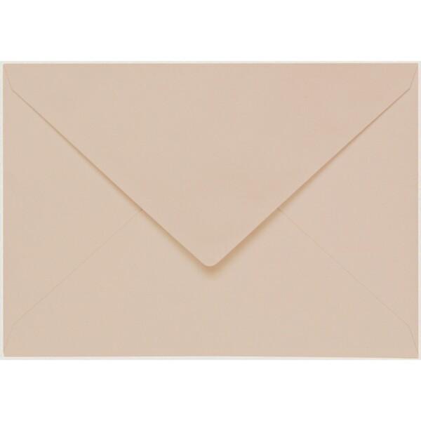 Artoz 1001 - 'Apricot' Envelope. 162mm x 114mm 100gsm C6 Lined Gummed Envelope.