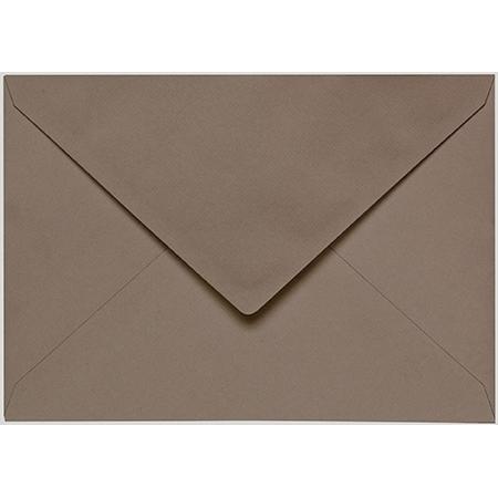 Artoz 1001 - 'Taupe' Envelope. 162mm x 114mm 100gsm C6 Lined Gummed Envelope.