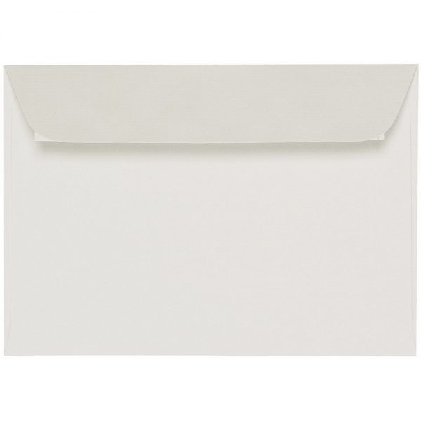 Artoz 1001 - 'Pale Ivory' Envelope. 162mm x 114mm 100gsm C6 Peel/Seal Envelope.