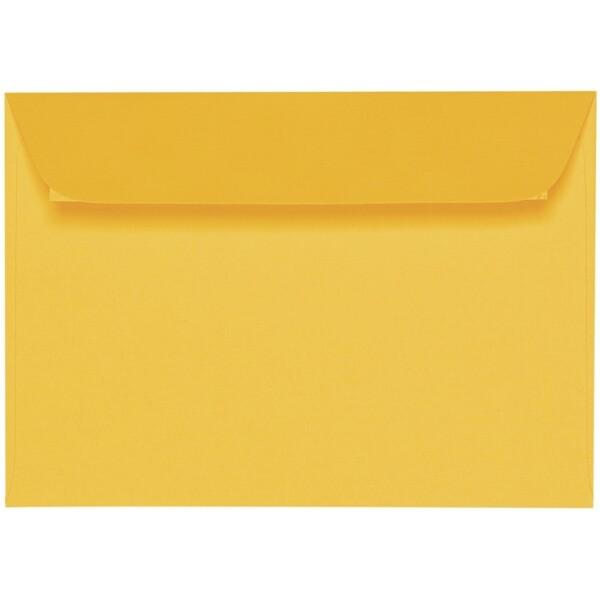 Artoz 1001 - 'Sun Yellow' Envelope. 162mm x 114mm 100gsm C6 Peel/Seal Envelope.