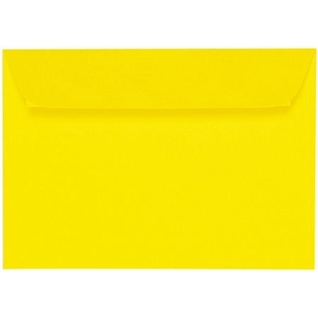 Artoz 1001 - 'Corn Yellow' Envelope. 162mm x 114mm 100gsm C6 Peel/Seal Envelope.