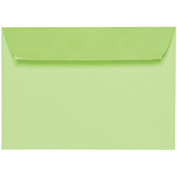 Artoz 1001 - 'Birchtree Green' Envelope. 162mm x 114mm 100gsm C6 Peel/Seal Envelope.