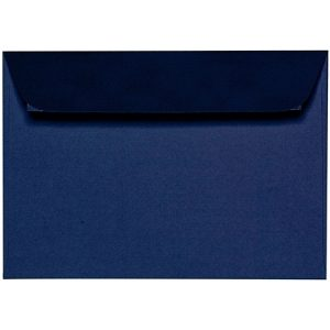 Artoz 1001 - 'Classic Blue' Envelope. 162mm x 114mm 100gsm C6 Peel/Seal Envelope.