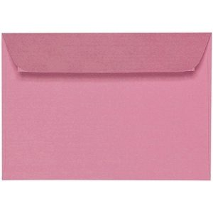 Artoz 1001 - 'Coral' Envelope. 162mm x 114mm 100gsm C6 Peel/Seal Envelope.