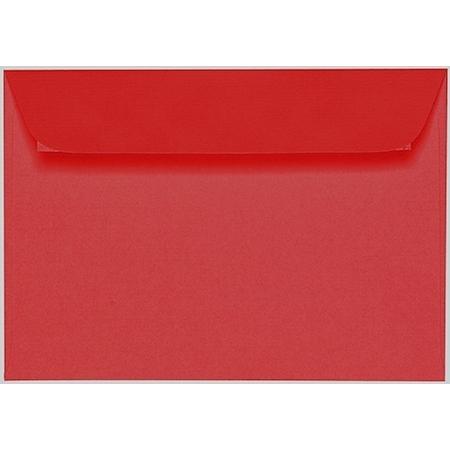 Artoz 1001 - 'Red' Envelope. 162mm x 114mm 100gsm C6 Peel/Seal Envelope.