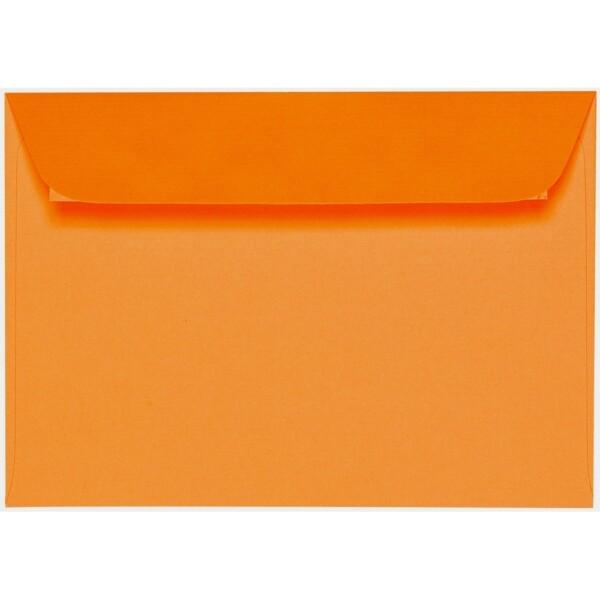 Artoz 1001 - 'Orange' Envelope. 162mm x 114mm 100gsm C6 Peel/Seal Envelope.