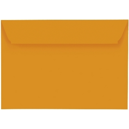 Artoz 1001 - 'Mandarin' Envelope. 162mm x 114mm 100gsm C6 Peel/Seal Envelope.