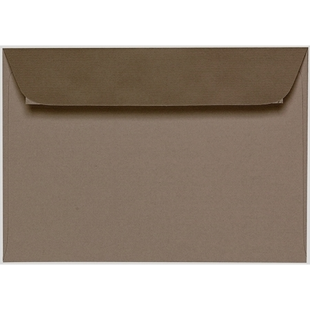 Artoz 1001 - 'Taupe' Envelope. 162mm x 114mm 100gsm C6 Peel/Seal Envelope.