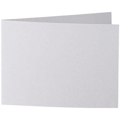 Artoz 1001 - 'Light Grey' Card. 296mm x 105mm 220gsm A6 Folded (Short Edge) Card.