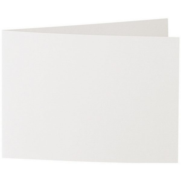 Artoz 1001 - 'Pale Ivory' Card. 296mm x 105mm 220gsm A6 Folded (Short Edge) Card.