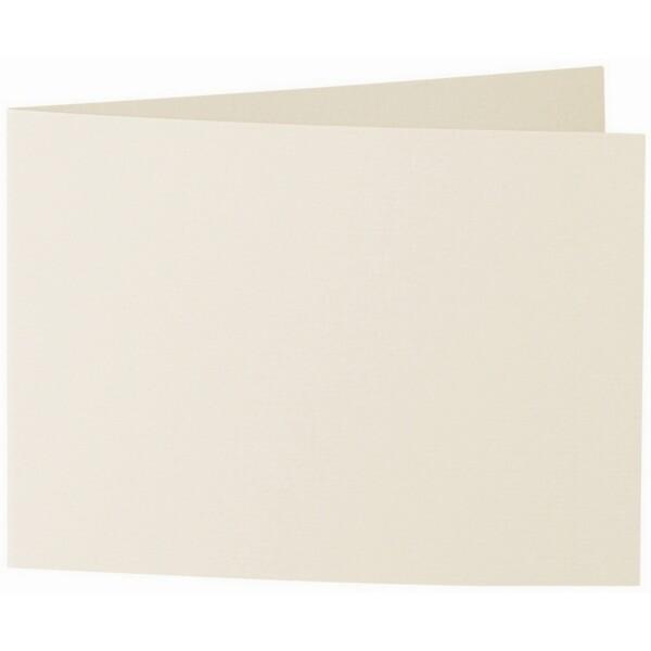 Artoz 1001 - 'Chamois' Card. 296mm x 105mm 220gsm A6 Folded (Short Edge) Card.