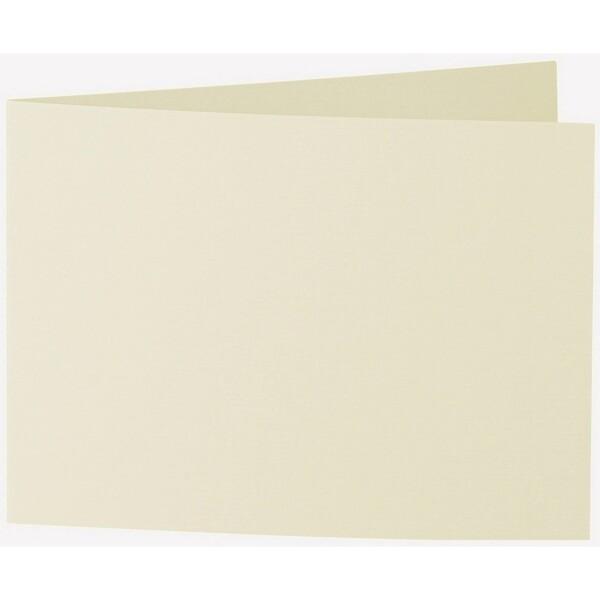 Artoz 1001 - 'Crema' Card. 296mm x 105mm 220gsm A6 Folded (Short Edge) Card.