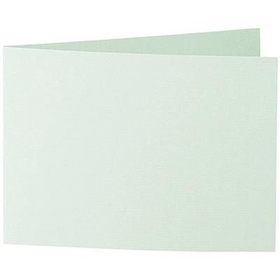 Artoz 1001 - 'Pale Mint' Card. 296mm x 105mm 220gsm A6 Folded (Short Edge) Card.