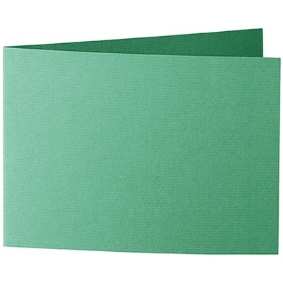 Artoz 1001 - 'Firtree Green' Card. 296mm x 105mm 220gsm A6 Folded (Short Edge) Card.