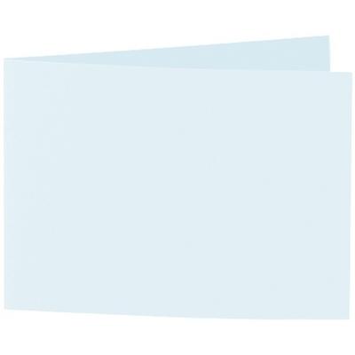 Artoz 1001 - 'Light Blue' Card. 296mm x 105mm 220gsm A6 Folded (Short Edge) Card.