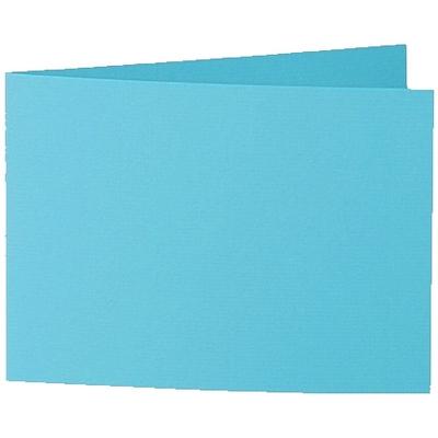 Artoz 1001 - 'Turquoise' Card. 296mm x 105mm 220gsm A6 Folded (Short Edge) Card.