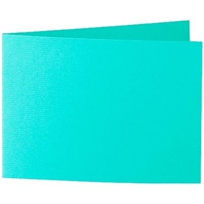 Artoz 1001 - 'Emerald Green' Card. 296mm x 105mm 220gsm A6 Folded (Short Edge) Card.