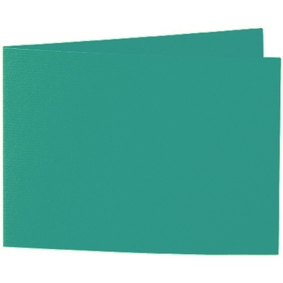Artoz 1001 - 'Tropical Green' Card. 296mm x 105mm 220gsm A6 Folded (Short Edge) Card.