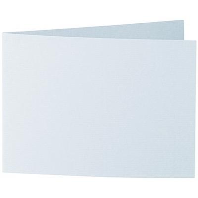 Artoz 1001 - 'Sky Blue' Card. 296mm x 105mm 220gsm A6 Folded (Short Edge) Card.