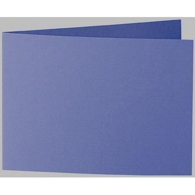 Artoz 1001 - 'Indigo' Card. 296mm x 105mm 220gsm A6 Folded (Short Edge) Card.