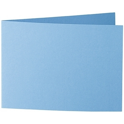 Artoz 1001 - 'Marine Blue' Card. 296mm x 105mm 220gsm A6 Folded (Short Edge) Card.