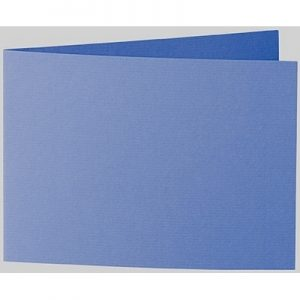 Artoz 1001 - 'Royal Blue' Card. 296mm x 105mm 220gsm A6 Folded (Short Edge) Card.