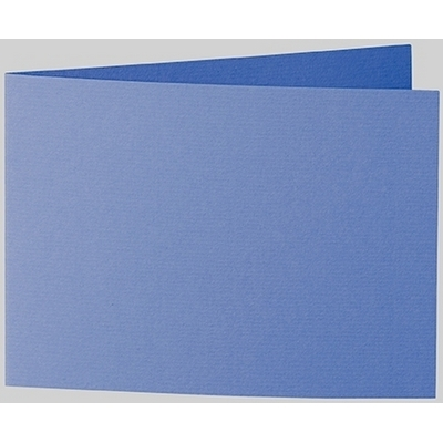 Artoz 1001 - 'Royal Blue' Card. 296mm x 105mm 220gsm A6 Folded (Short Edge) Card.