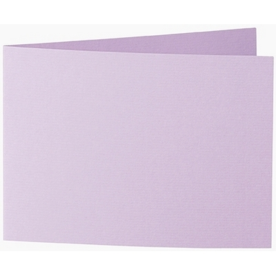 Artoz 1001 - 'Lilac' Card. 296mm x 105mm 220gsm A6 Folded (Short Edge) Card.