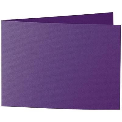 Artoz 1001 - 'Violet' Card. 296mm x 105mm 220gsm A6 Folded (Short Edge) Card.