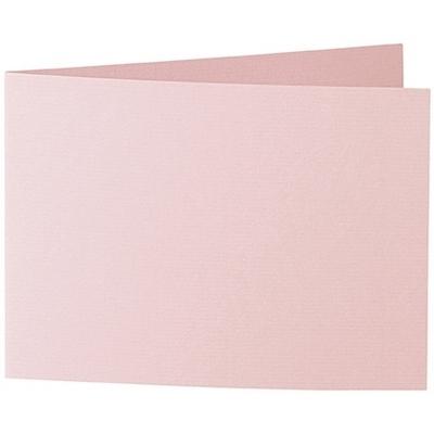 Artoz 1001 - 'Pink' Card. 296mm x 105mm 220gsm A6 Folded (Short Edge) Card.
