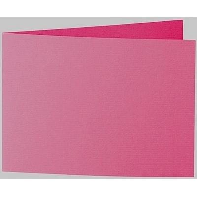 Artoz 1001 - 'Fuchsia' Card. 296mm x 105mm 220gsm A6 Folded (Short Edge) Card.