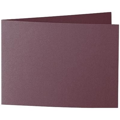 Artoz 1001 - 'Marsala' Card. 296mm x 105mm 220gsm A6 Folded (Short Edge) Card.