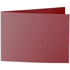Artoz 1001 - 'Bordeaux' Card. 296mm x 105mm 220gsm A6 Folded (Short Edge) Card.