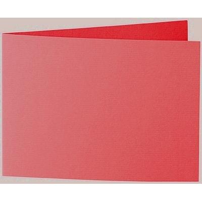 Artoz 1001 - 'Light Red' Card. 296mm x 105mm 220gsm A6 Folded (Short Edge) Card.