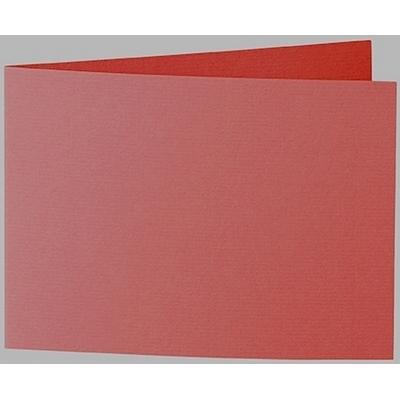 Artoz 1001 - 'Fire Red' Card. 296mm x 105mm 220gsm A6 Folded (Short Edge) Card.