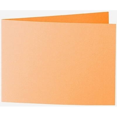 Artoz 1001 - 'Mango' Card. 296mm x 105mm 220gsm A6 Folded (Short Edge) Card.