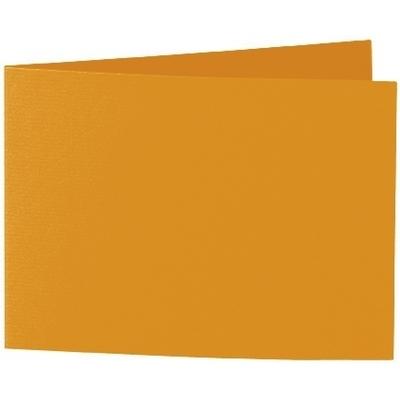 Artoz 1001 - 'Mandarin' Card. 296mm x 105mm 220gsm A6 Folded (Short Edge) Card.