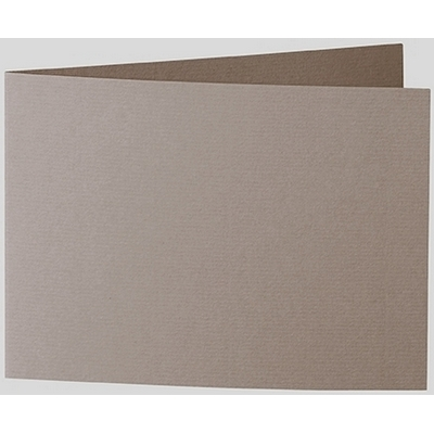 Artoz 1001 - 'Taupe' Card. 296mm x 105mm 220gsm A6 Folded (Short Edge) Card.