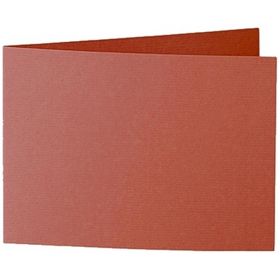Artoz 1001 - 'Copper' Card. 296mm x 105mm 220gsm A6 Folded (Short Edge) Card.