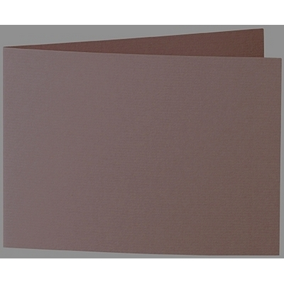 Artoz 1001 - 'Brown' Card. 296mm x 105mm 220gsm A6 Folded (Short Edge) Card.