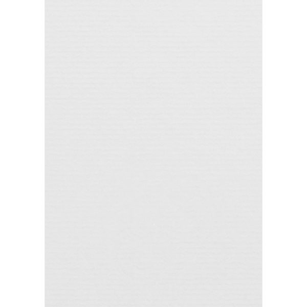 Artoz 1001 - 'Blossom White' Card. 148mm x 105mm 220gsm A6 Card.