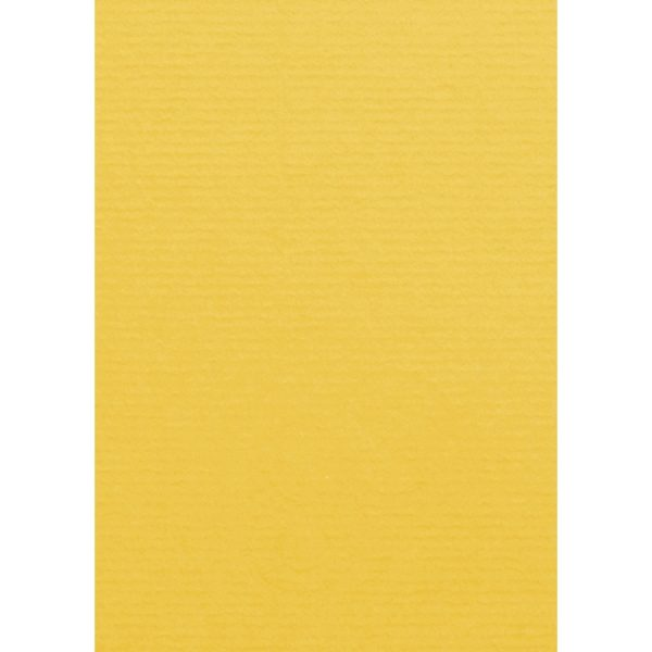 Artoz 1001 - 'Sun Yellow' Card. 148mm x 105mm 220gsm A6 Card.