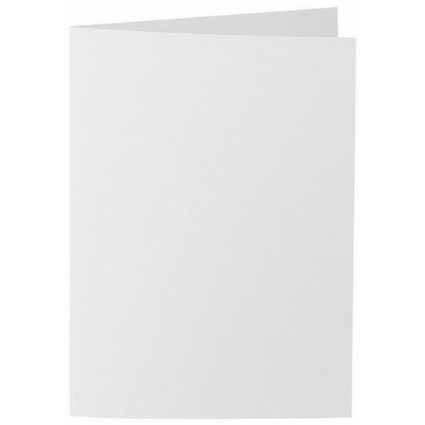Artoz 1001 - 'Bianco White' Card. 240mm x 169mm 220gsm B6 Bi-Fold (Long Edge) Card.