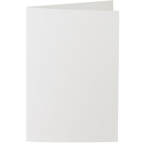 Artoz 1001 - 'Silver Grey' Card. 240mm x 169mm 220gsm B6 Bi-Fold (Long Edge) Card.
